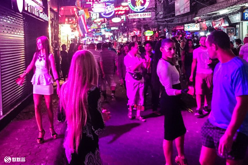 芭提雅红灯区「Pattaya Walking Street」 (8)